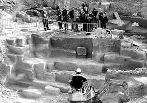 Una edificación en sa Calatrava destruirá el 37% de un yacimiento romano