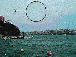 Un cometa sobre Menorca