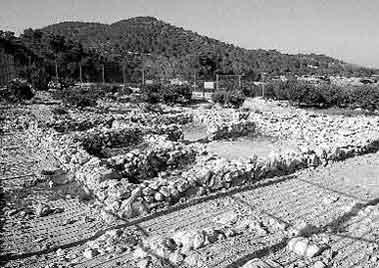 Comienza la restauración del poblado fenicio de sa Caleta