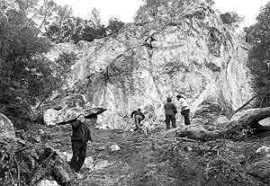 El derrumbe en Son Matge obligará a modificar el proyecto de excavación