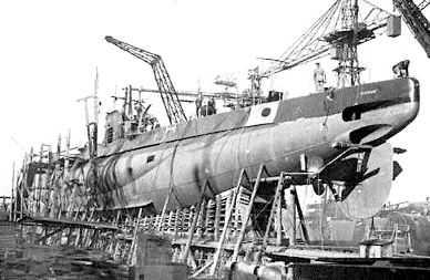 Aparece un submarino perdido